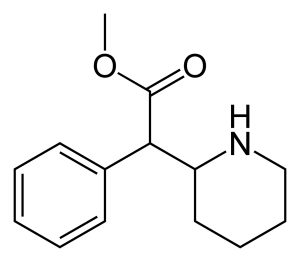 Methylphenidate-2D-skeletal